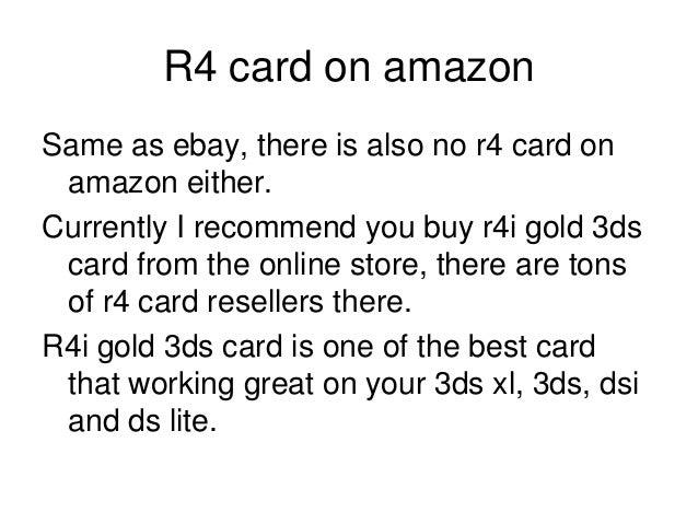 Buy r4i gold 3ds ebay amazon