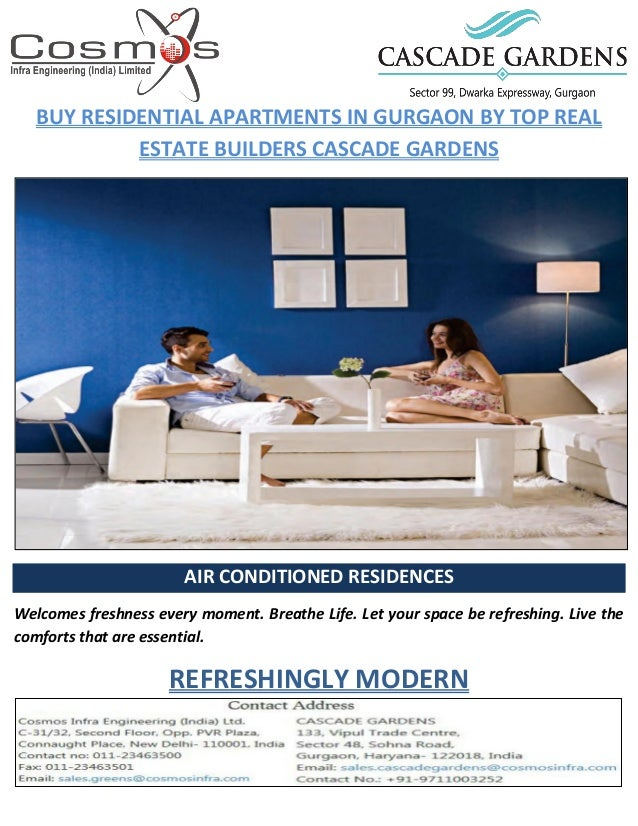 Buy Residential Apartments in Gurgaon by Top Real Estate ...