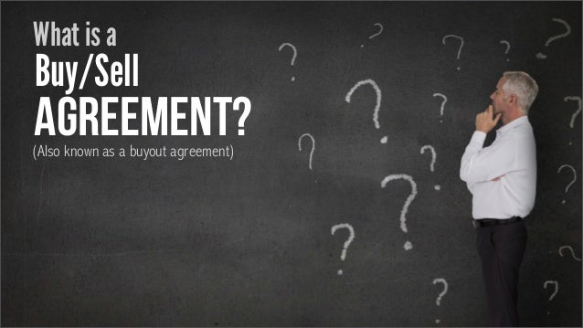 How To Protect Your Business With A Buysell Agreement