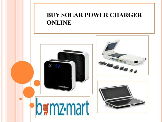 BUY SOLAR POWER CHARGER ONLINE