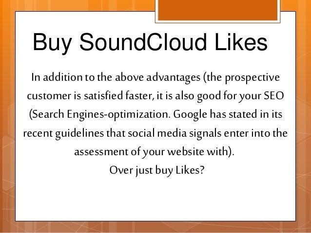 Buy SoundCloud Likes- Buysoundcloudlikes