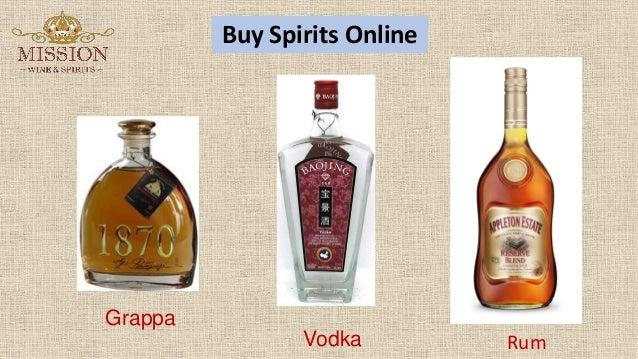 f33bbb40da8 Buy Spirits Online Vodka Grappa Rum ...