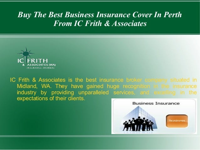 Buy the best business insurance cover in perth from ic ...