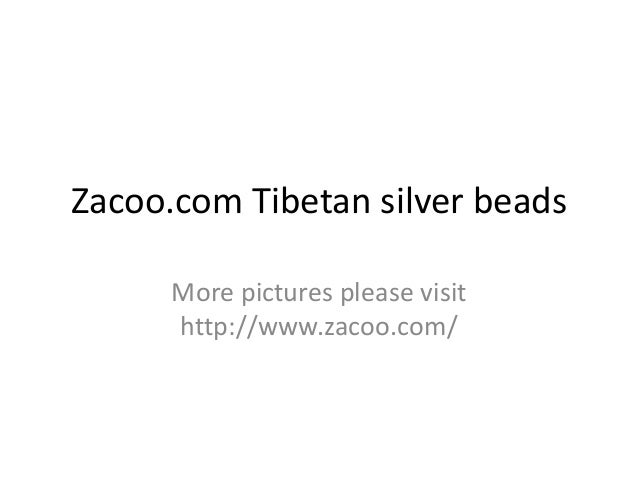 Zacoo.com Tibetan silver beads More pictures please visit http://www.zacoo.com/