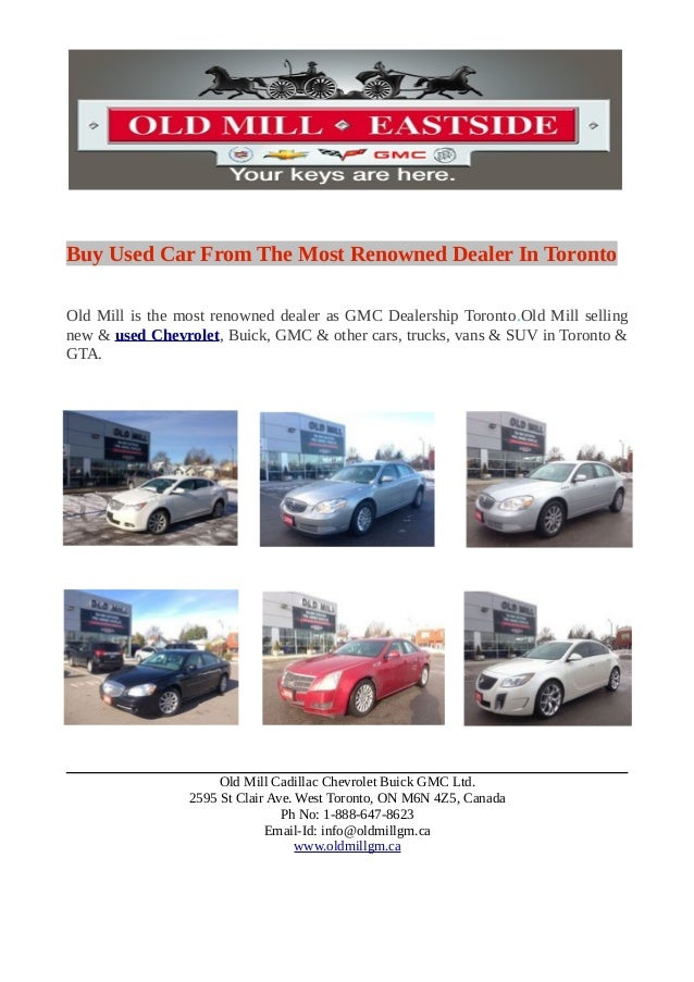 Car Dealers Toronto >> Buy Used Car From The Most Renowned Dealer In Toronto