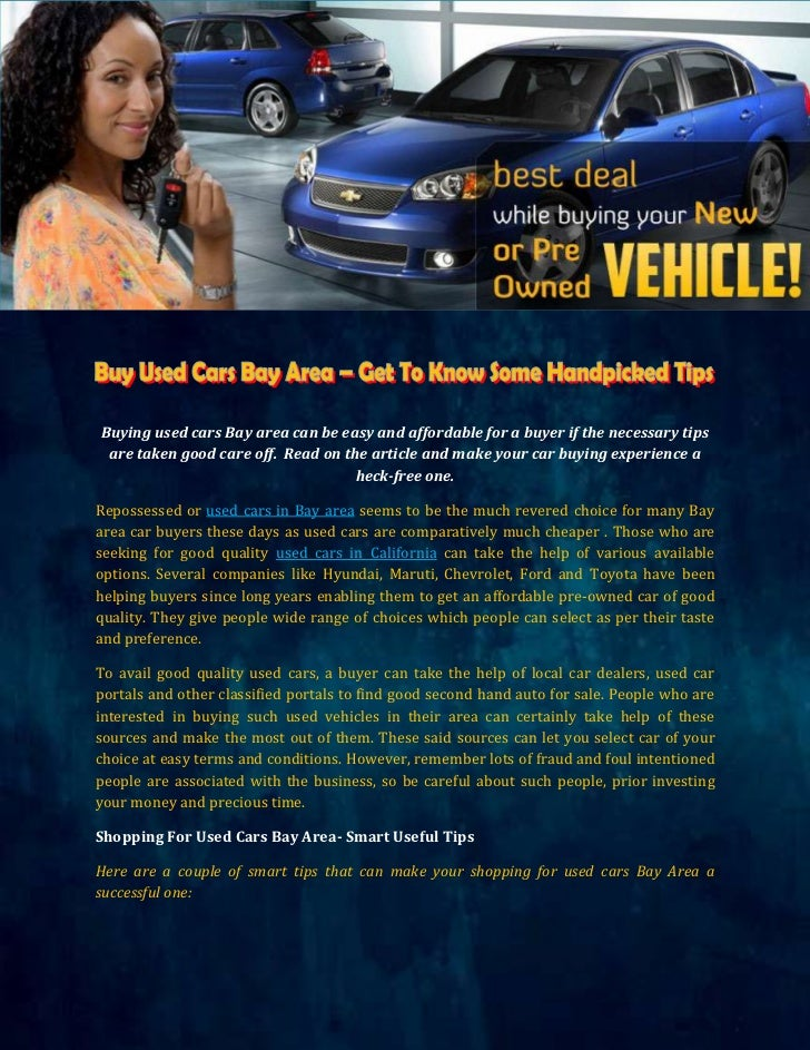 Used Cars Bay Area >> Buy Used Cars Bay Area Get To Know Some Handpicked Tips