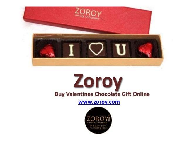 ZoroyBuy Valentines Chocolate Gift Online www.zoroy.com