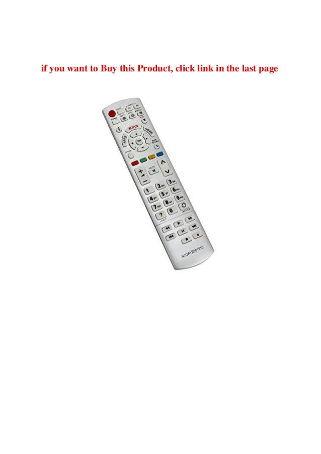 Buy Vinabty New Replacement Remote Control N2QAYB001010
