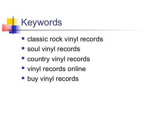 Buy Vinyl Records