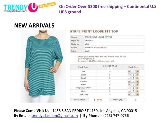 Buy clothes in bulk online
