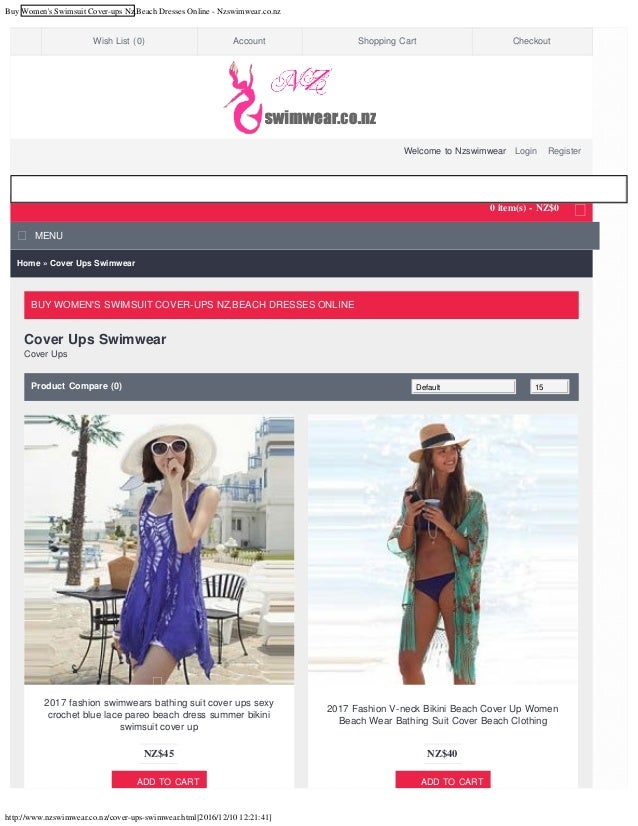 Buy women's swimsuit cover ups nz,beach dresses online - nzswimwear.c…