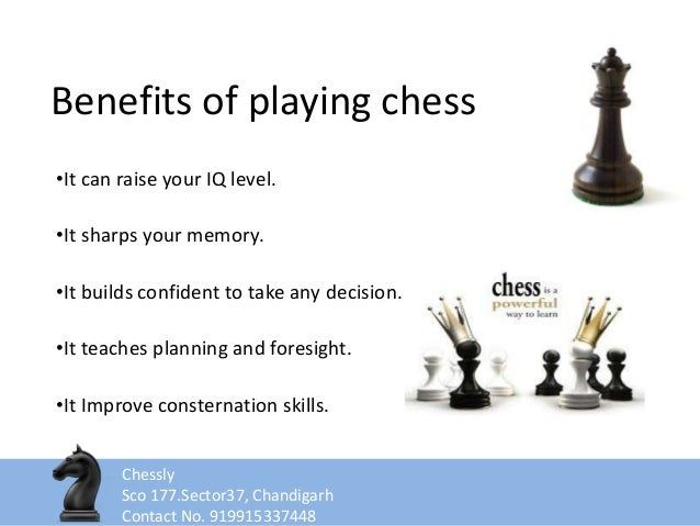 Benefits of playing chess essay