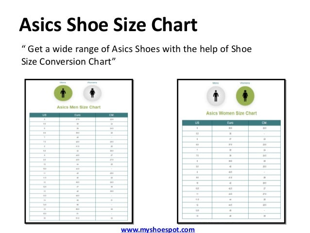 asics womens running shoes size chart boots