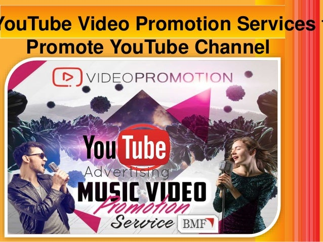 Buy YouTube Video Promotion Services to Promote YouTube Channel