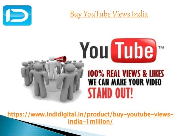 Get the best buy youtube views india