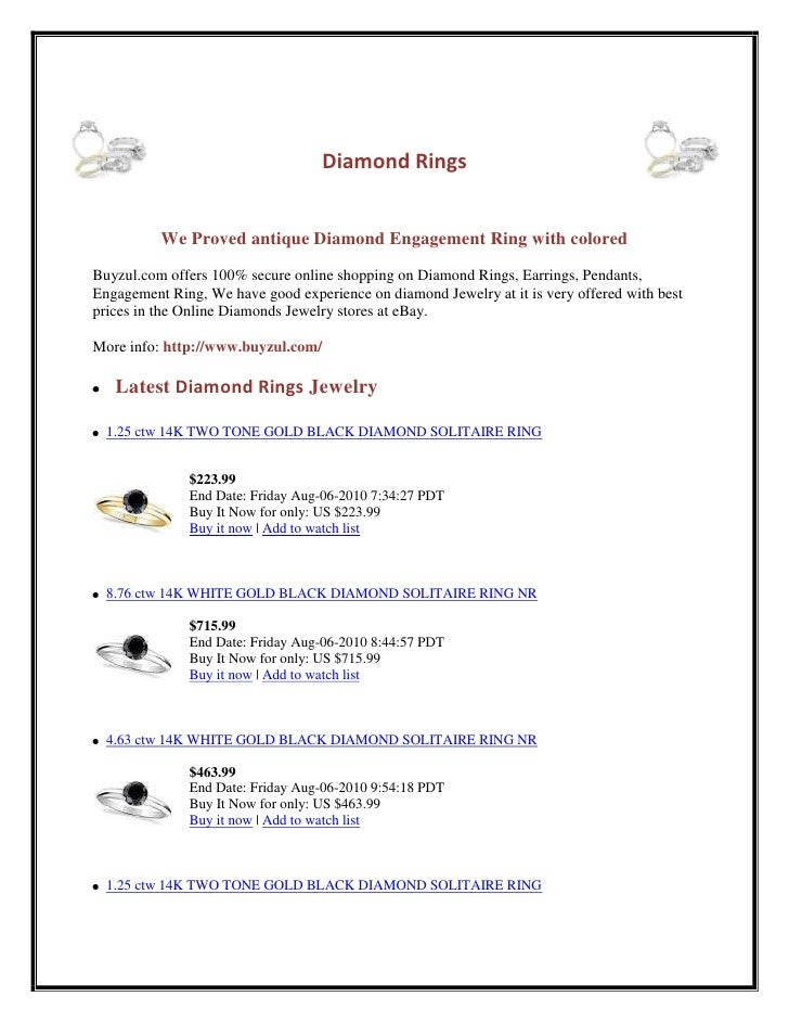 541020043815-22860043815<br />Diamond Rings<br />We Proved antique Diamond Engagement Ring with colored<br />Buyzul.com of...