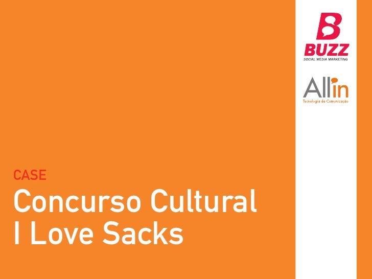 CASEConcurso CulturalI Love Sacks