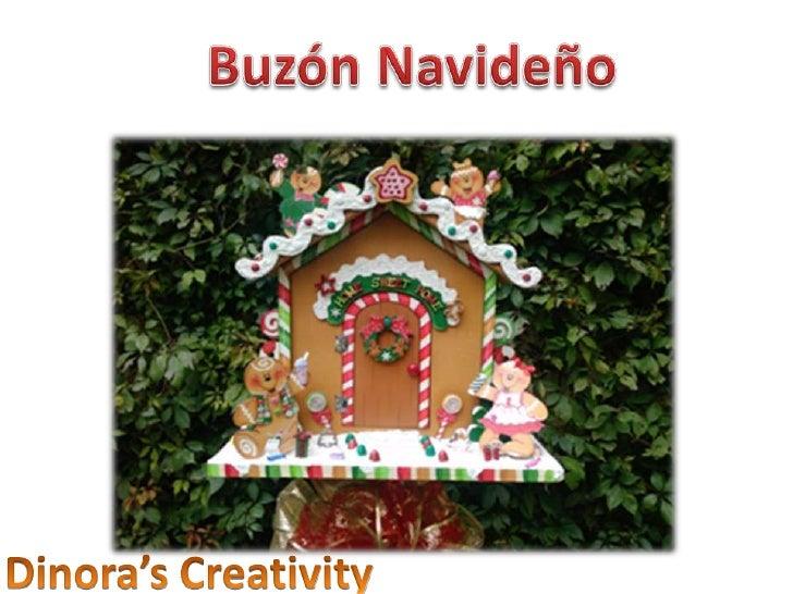Buzón Navideño<br />Dinora'sCreativity<br />