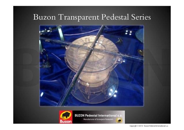Buzon Pedestal Calculator