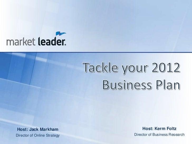 Host: Jack Markham                Host: Kerm FoltzDirector of Online Strategy   Director of Business Research