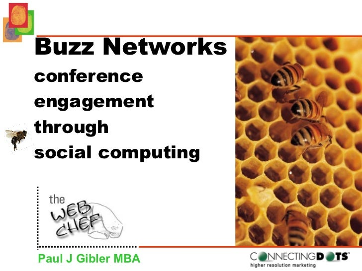 Buzz Networks conference  engagement  through  social computing