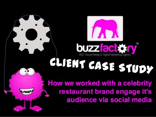 How we worked with a celebrity  restaurant brand engage it's    audience via social media