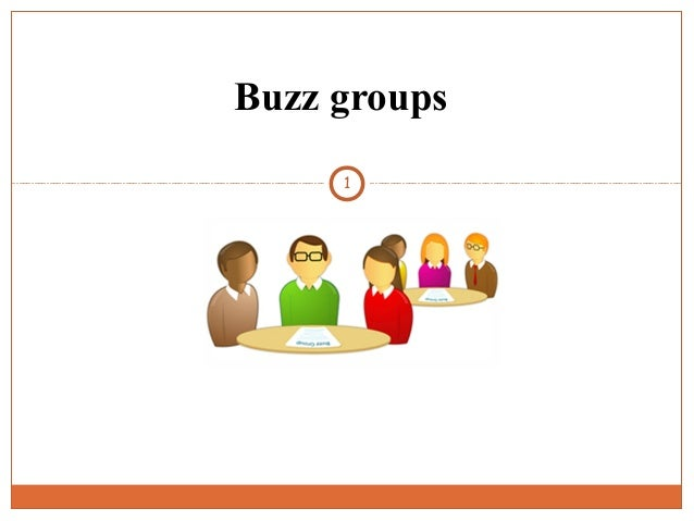 Buzz groups 1