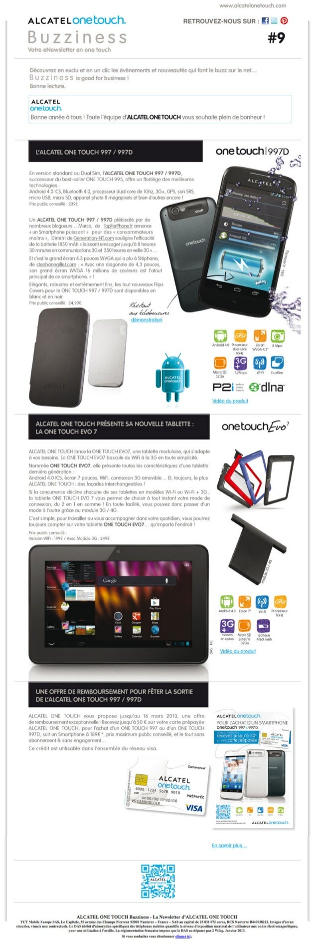 ALCATEL ONE TOUCH - Buzziness9