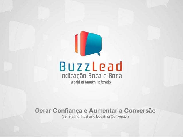 Gerar Confiança e Aumentar a Conversão Generating Trust and Boosting Conversion