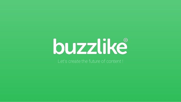 Let's create the future of content !