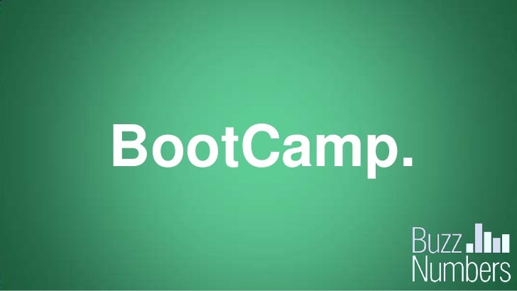 BootCamp.