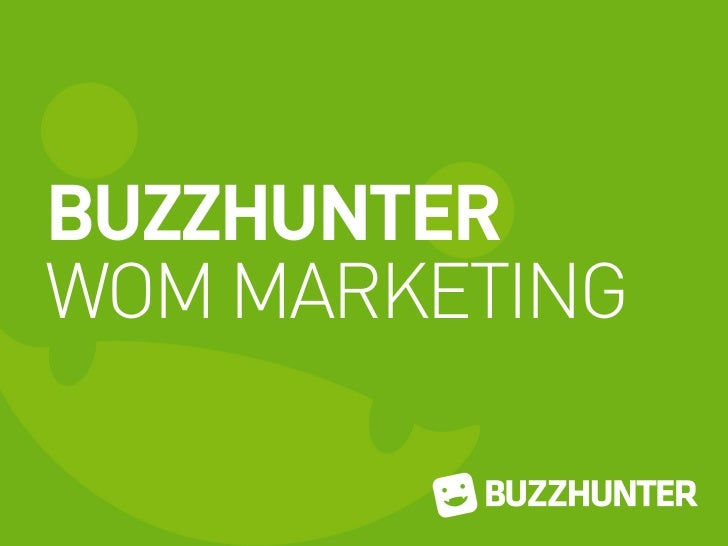 BUZZHUNTERWOM MARKETING