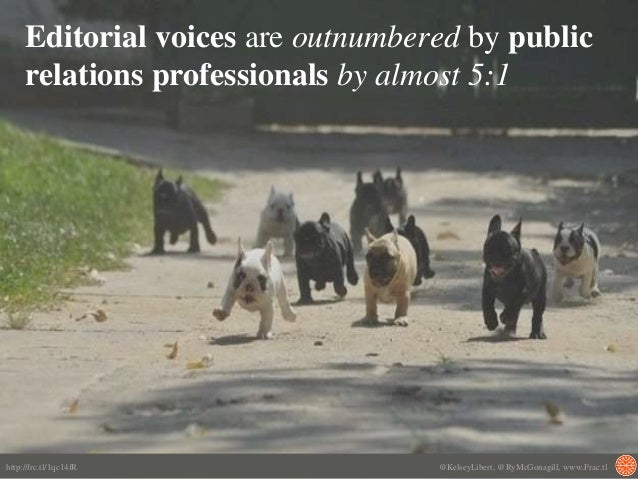 Editorial voices are outnumbered by public relations professionals by almost 5:1 http://frc.tl/1qc14fR @KelseyLibert, @RyM...