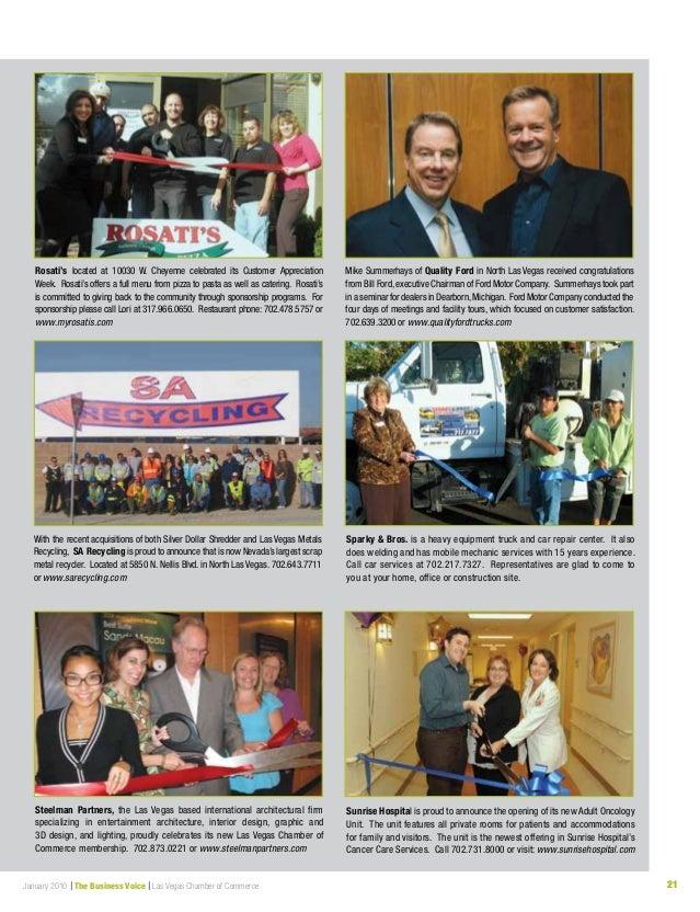 Business voice january 2010 for Auto paint shop las vegas