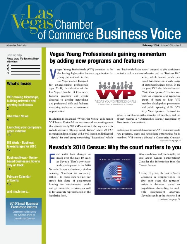 Business Voice Routing Slip Please share The Business Voice with others A Member Publication  February 2010 | Volume 30 N...