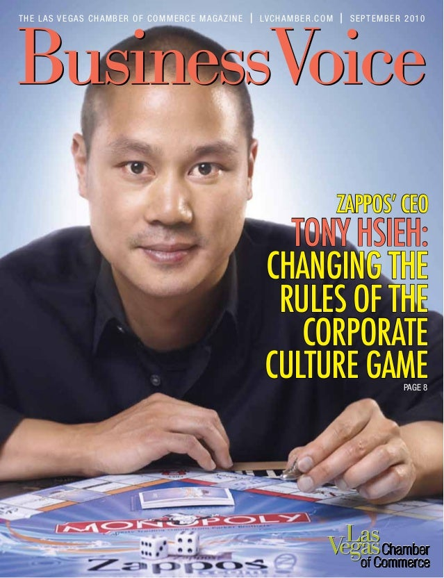 dab2d2eab9 ZAPPOS  CEO TONY HSIEH  CHANGING THE RULES OF THE CORPORATE CULTURE GAME  THE LAS ...