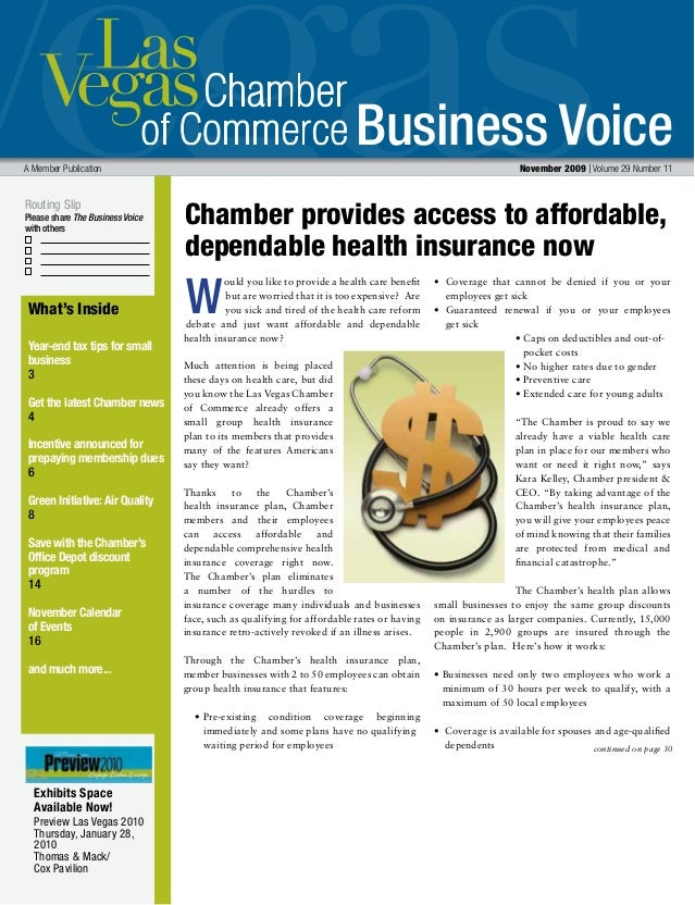 Business Voice Routing Slip Please share The Business Voice with others A Member Publication  November 2009 | Volume 29 N...