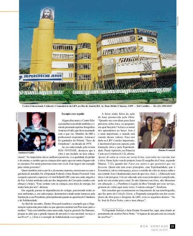 cb03c4aa1eccd Revista Boa Vontade, edição 192