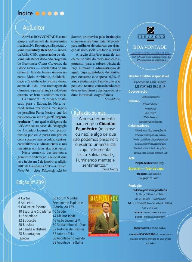 5748df65b Revista Boa Vontade, edição 209