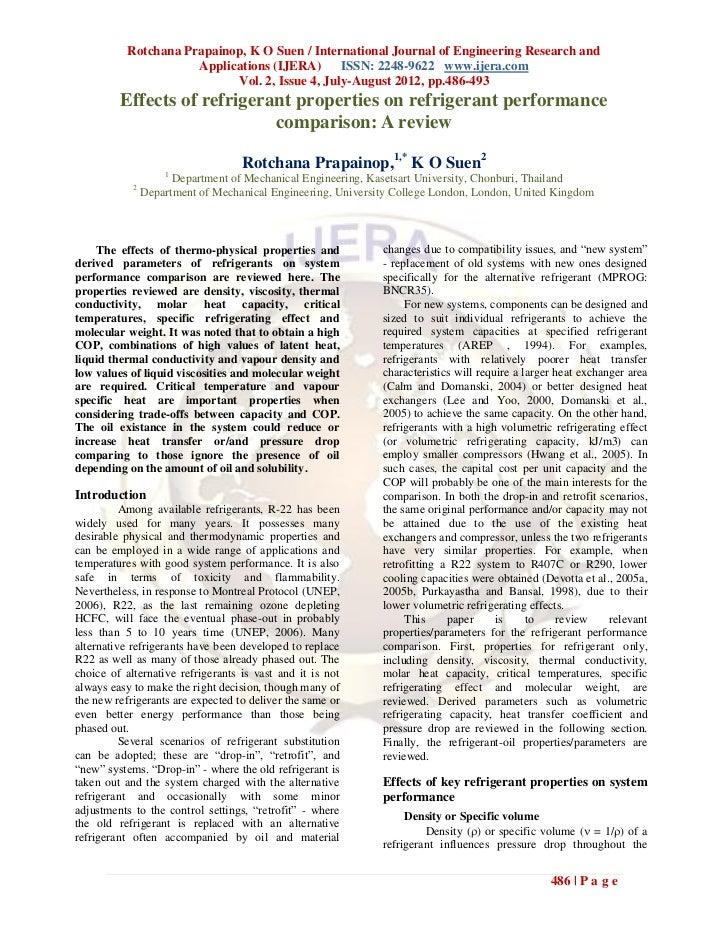 Rotchana Prapainop, K O Suen / International Journal of Engineering Research and                      Applications (IJERA)...