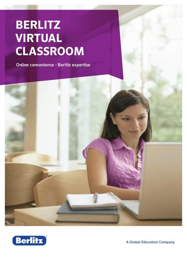 Berlitz Virtual Classroom Online convenience - Berlitz expertise