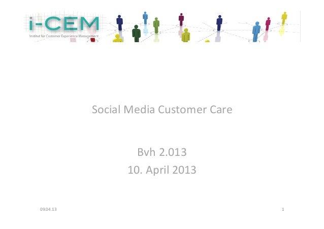 Social Media Customer Care...