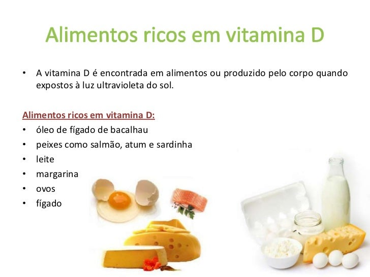B vitad - Alimentos que contiene vitamina d ...