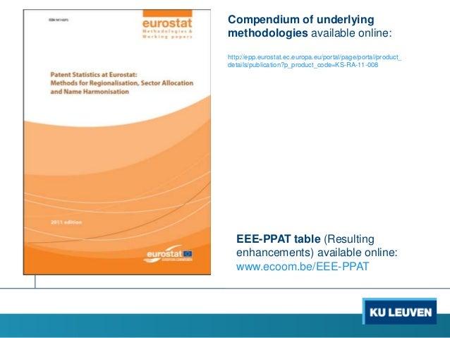 Compendium of underlying methodologies available online: http://epp.eurostat.ec.europa.eu/portal/page/portal/product_ deta...