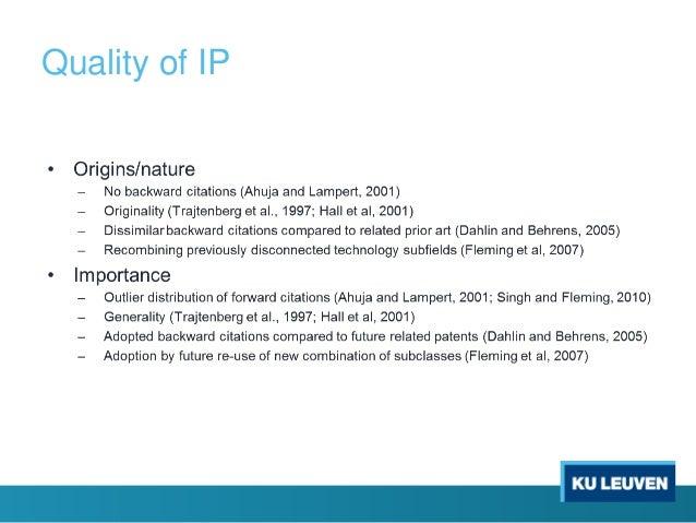 Quality of IP
