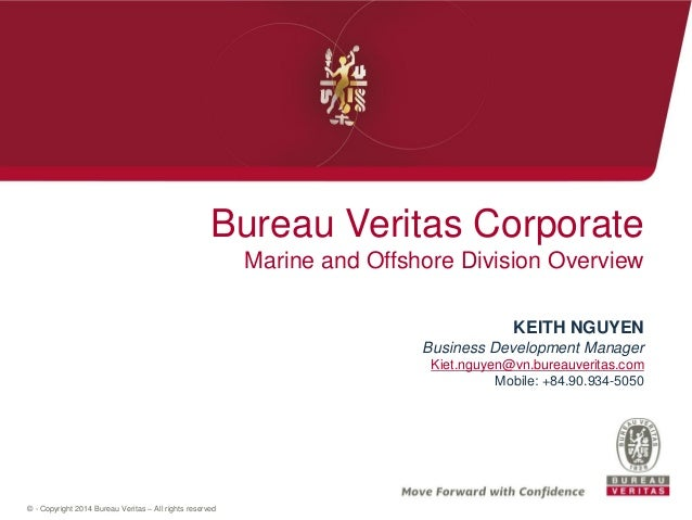 Bureau Veritas Marine Offshore Presentation  English