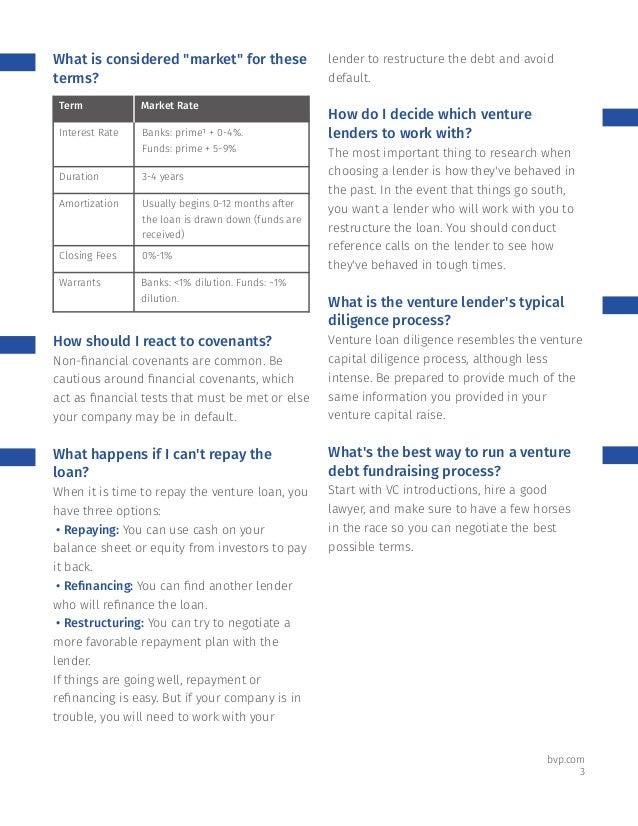 Ten Questions Every Founder Should Ask before Raising Venture Debt Slide 3