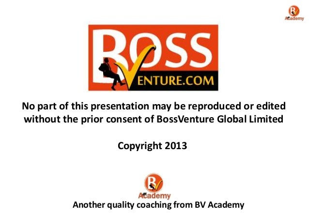 bossventure business plan