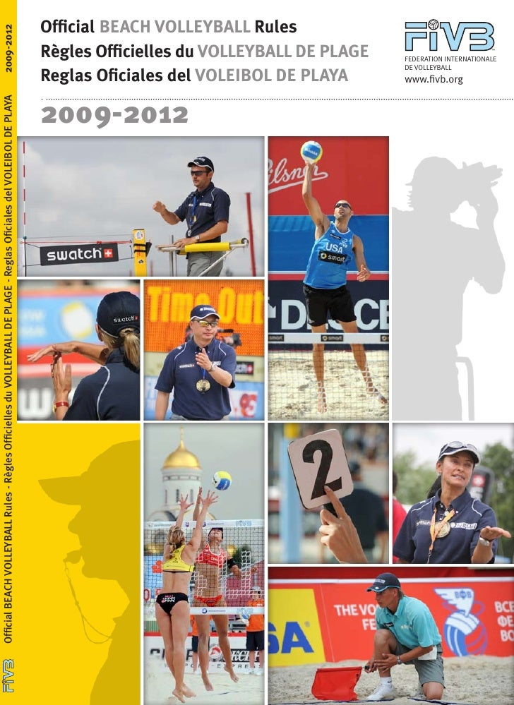 Official BEACH VOLLEYBALL Rules2009-2012                                                                                  ...