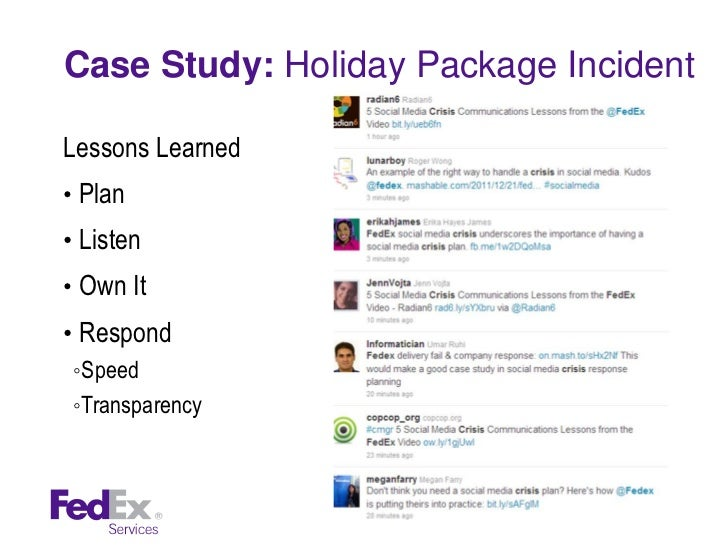 """fed ex case The solution: the cold shipping package provided by fedex a case study on stress-free shipping for """"keep cold"""" clinical samples the need."""